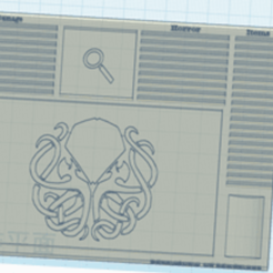 Picture1.png Download free STL file Compact Mansion of Madness Dash board  • 3D print model, counpsyjoe