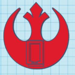 Rebel Base for NF Pez.PNG Download STL file Rebel Base for NF Pez • 3D print object, PezMan