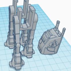 AT-AT 1.PNG Download STL file AT-AT Pez Dispenser KIt • 3D printing design, PezMan