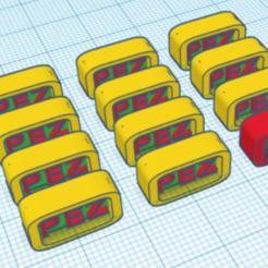 Candy.PNG Download free STL file Piece of Pez candy • 3D print design, PezMan