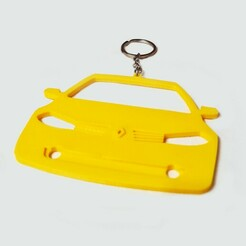 megan2front-3.jpg Download STL file Renault Megan II front view rear view mirror hang • 3D printing design, ioancodoban