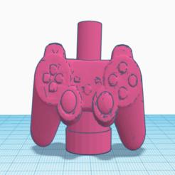 PS4.png Download STL file Shisha/Hookah Mouthpiece PS4 Controller  • 3D printable model, victorteodosiev