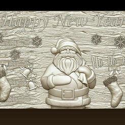 d759.jpg Download STL file Merry Christmas Holiday Santa Claus Happy New Year Xmas Christmas Day 3D Models  • 3D printing design, 3DCNCMODELS