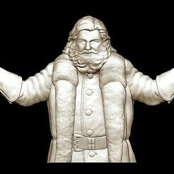 2020-12-28_132445.jpg Télécharger fichier STL Joyeux Noël Père Noël Bonne Année Noël Modèles 3D • Modèle pour imprimante 3D, 3DCNCMODELS