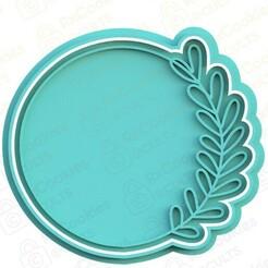 floral ornament.jpg Download STL file Floral ornament cookie cutter • Design to 3D print, RxCookies