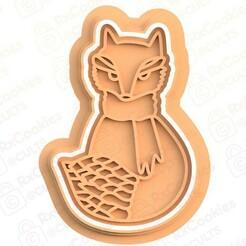fox.jpg Download STL file Fox cookie cutter • 3D printing model, RxCookies
