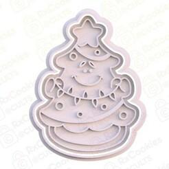 3.jpg Download STL file Christmas tree cookie cutter • 3D printing design, RxCookies