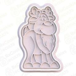 18.jpg Download STL file Christmas deer cookie cutter • 3D printer template, RxCookies