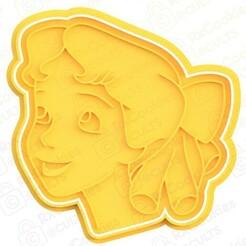 Wendy.jpg Download STL file Wendy cookie cutter • 3D print model, RxCookies
