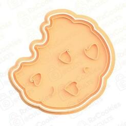 32.jpg Download STL file Cookies cookie cutter • 3D printable object, RxCookies