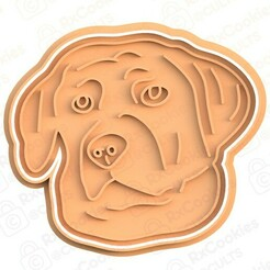 dog 3.jpg Download STL file Dog cookie cutter #3 • 3D printer model, RxCookies