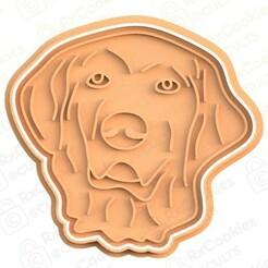 dog 2.jpg Download STL file Dog cookie cutter #2 • 3D print model, RxCookies