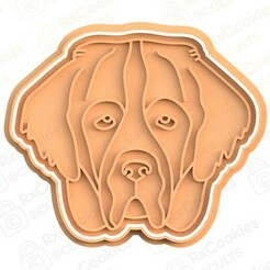 dog 1.jpg Download STL file Dog cookie cutter #1 • Object to 3D print, RxCookies