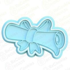 scroll.jpg Download STL file Scroll cookie cutter • Model to 3D print, RxCookies