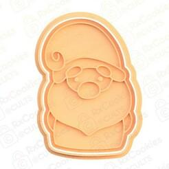 27.jpg Download STL file Gnome #2 cookie cutter • 3D print model, RxCookies