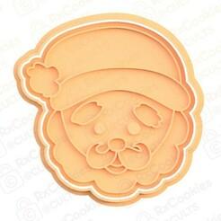 31.jpg Download STL file Santa #3 cookie cutter • 3D printing model, RxCookies