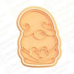26.jpg Download STL file Gnome cookie cutter • 3D printable model, RxCookies