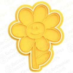 flower.jpg Download STL file Flower cookie cutter • Model to 3D print, RxCookies