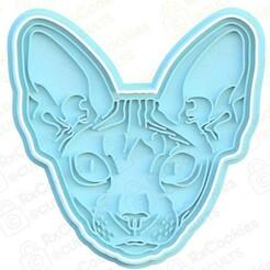 sphinx.jpg Download STL file Sphinx cat cookie cutter • Object to 3D print, RxCookies