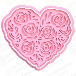 heart.jpg Download STL file Heart cookie cutter • 3D printer model, RxCookies