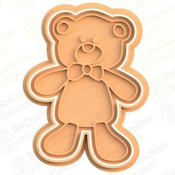 bear.jpg Download STL file Bear cookie cutter • Object to 3D print, RxCookies