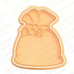 33.jpg Download STL file Gift bag cookie cutter • 3D print design, RxCookies
