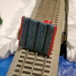 O gauge track cleaner B.jpg Download STL file O gauge Track Cleaner for all types of tracks 3 rail. • 3D printer design, schonfelder