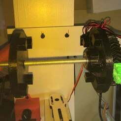 IMG_1425.jpg Download free STL file Makerbot Spool Gears for Filawinder • 3D printable design, beowulfkaine