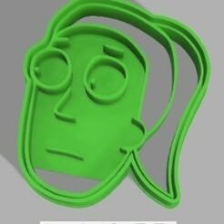 SummerSmith.jpg Télécharger fichier STL RickAndMorty Coupeur de biscuits • Plan pour imprimante 3D, Juacun