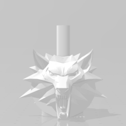 thr.png Download STL file The Witcher Mouthpiece • 3D printing model, Gazpacho