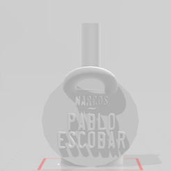 narc.png Download STL file Narco Mouthpiece • Template to 3D print, Gazpacho