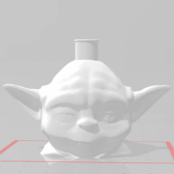 y.png Download STL file Purged Yoda Mouthpiece • Object to 3D print, Gazpacho
