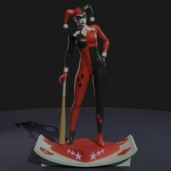 0.jpg Download STL file Harley Quinn classic • 3D printable object, den_point777