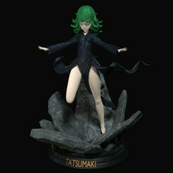 Tatsumaki_4012.jpg Download STL file Tatsumaki - One Punch Man • Model to 3D print, den_point777