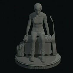 0.jpg Download STL file Ellie - The Last of Us Part 2 • 3D printable model, den_point777