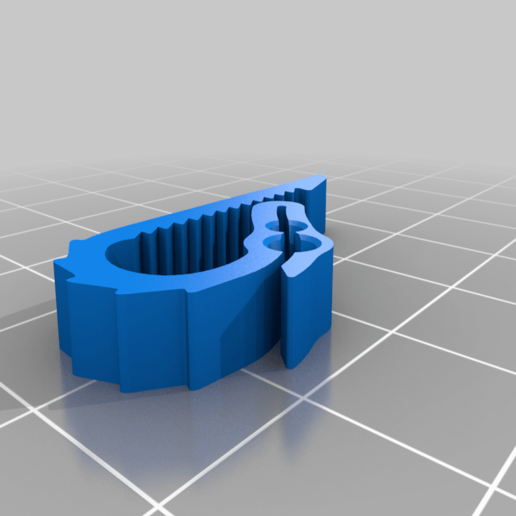 UniversalDualFilamentDragonClip-FullSpikes.png Download free STL file Universal Dual Filament Dragon Clip • 3D printing model, lyl3