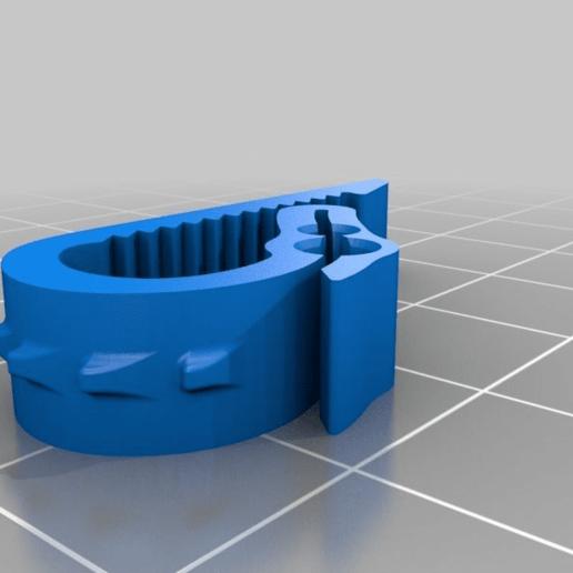 3439a4ddf736cae3cb9d2a9904f6383d.png Download free STL file Universal Dual Filament Dragon Clip • 3D printing model, lyl3