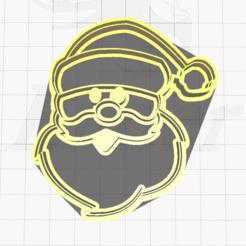 1.png Télécharger fichier STL Coupe-biscuits du Père Noël • Modèle pour imprimante 3D, SuleymanAydin