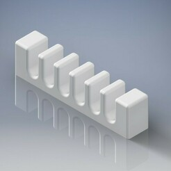 nézet.jpeg Download free STL file Cable holder • 3D printer model, Patrics