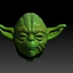 yoda.jpg Download STL file Yoda Mask • 3D print design, Meteler3d
