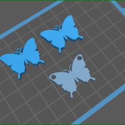 vvv.png Download STL file butterfly set  • Design to 3D print, rebeccaljones