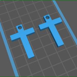 screenShot_cross_3.png Télécharger fichier STL croiser 3 boucles d'oreilles • Modèle pour imprimante 3D, rebeccaljones