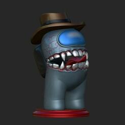 1.jpg Download OBJ file Among Us  Venom • 3D printer template, Maskitto