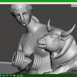 close up.png Download STL file The goddess • 3D printer design, cjpatters