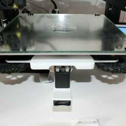 Handle_picture.JPG Télécharger fichier STL gratuit Compact Comgrow Creality Ender 3 Bed Handle for IKEA Lack enclosure • Design imprimable en 3D, BenjiP
