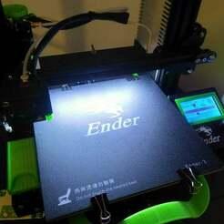 Photo_vignette.jpg Télécharger fichier STL gratuit Cadre de référence pour Comgrow Creality Ender 3 • Design à imprimer en 3D, BenjiP