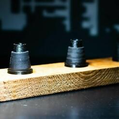 IMG_0415.jpg Download STL file Kopfhalter, BowlHolder [Hookahlab] • 3D printing design, HookahLab