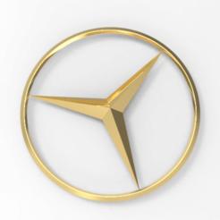 untitled.176.png Télécharger fichier STL Le logo de Merceds • Objet imprimable en 3D, ibrahimmohamed