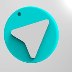 untitled.94.png Télécharger fichier STL Logo du télégramme • Plan à imprimer en 3D, ibrahimmohamed
