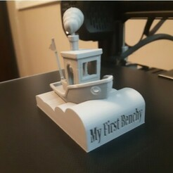 b11.jpg Download free STL file My First Benchy Display Base • 3D printing template, oQuakeo